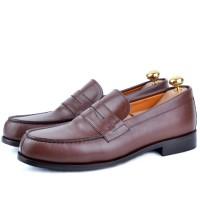 Chaussure cuir -AD587 Marron