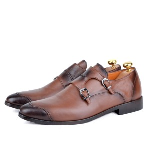 Chaussure cuir -AD-Tabac 949