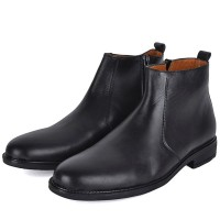 Bottine Cuir Noir ORJANI AD-1072