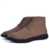 Boots confortable 100% cuir KW-761T