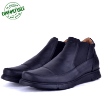 Bottine extra confortable en cuir 702