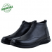Bottines Médicales extra confortable en cuir Noir  NJ-3000N