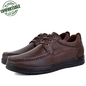 Chaussures 100% Cuir Médical  KW-302T
