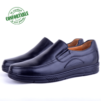 Chaussures Médicales Pour Homme  100% Cuir EXTRA Confortable KW-304