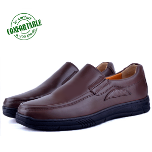 Chaussures Médicale Pour Homme 100% Cuir EXTRA Confortable KW-304