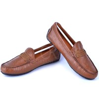 Mocassin Henry Cuir Tabac 110