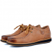Chaussures Pour Homme confortables 100% cuir Tabac KW-037T