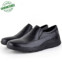 Chaussures Médicales Pour Homme 100% Cuir Crust EXTRA Confortable   MB-432N