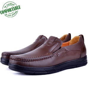 Chaussures Médicales Pour Homme 100% Cuir EXTRA Confortable KW-301