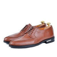 Chaussure classique en cuir Tabac AD-T1090