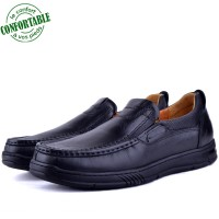 Chaussures Médicales Pour Homme 100% Cuir EXTRA Confortable KW-301N